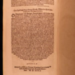 1571 Georg Witzel German Bible Commentary Lutheran Liturgy Gospel Mainz Woodcuts
