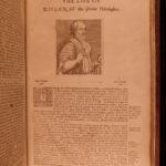 1676 Plutarch Parallel Lives ENGLISH FOLIO Alexander Caesar COLUMBUS Cortez