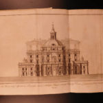 1786 1ed Vatican Secrets Basilica ROME Illustrated Cancellieri Secretariis 4v