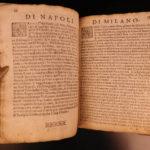 1608 1ed Solis World Provinces ITALY Constantinople Paris Geography Geneva Pisa