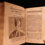 1676 History of TURKS Ottoman Empire Sultans Turkish Viziers Mehmed II Portraits