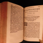 1677 Etienne Pasquier on Jesuit Catechism anti-Catholic Doctrine Mystery French
