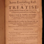 1659 PURITAN Saints Everlasting Rest Richard Baxter Bible Devotional on HEAVEN