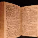 1791 Book of Common Prayer Church of England Bible Psalms Cambridge BEAUTIFUL