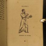 1864 1ed Sparring Self Defense Exercise Civil War Boxing Wrestling Illustrated