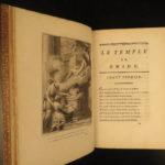 1773 EXQUISITE Temple Gnidus Montesquieu Greek Roman Mythology Aphrodite Venus
