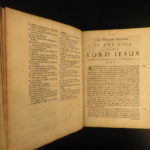 1685 1ed Life & Death of Jesus Christ Bible History Commentary Woodhead Oxford