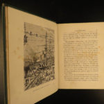 1874 1st UK ed Jules Verne The Floating City French Lit Adventure Illustrated