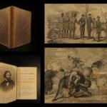 1856 1ed Fremont Illustrated California Rocky Mountains USA Exploration Oregon