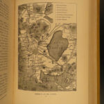 1885 Travels in MEXICO Mayan Volcanos Illustrated Mexican Inca Yucatan RARE Ober