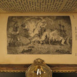 1845 RARE Fore-edge Painting of Horatio Nelson Trafalgar by Southey Navy Wars