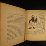 1933 1ed Three Little Pigs Silly Symphonies Walt DISNEY Color Illustrated