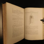 1876 1st ed Louis Pasteur Study of BEER Fermentation Microbiology Biere French