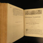 1756 1ed Martyn Philosophical Transactions Medicine Zoology Teratology Science