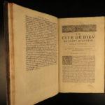 1655 Saint Augustine City of God HUGE FOLIO Philosophy Existence God Ceriziers