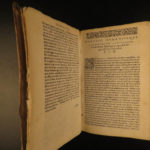 1637 RARE Quintilian Institutio Oratoria Rhetoric Oratory Public Speeches ROME