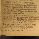 1699 Buccaneers in America Pirates Caribbean Exquemelin Illustrated Flibustiers