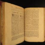 1704 Marcus Aurelius Meditations Stoic Philosophy Greek Latin OXFORD Ibbetson