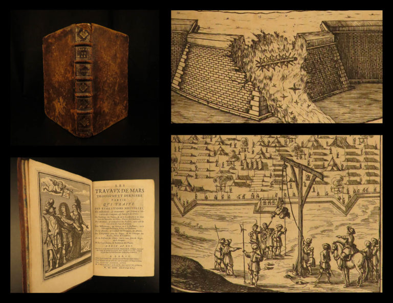 Image of 1672 Art of WAR Travaux de Mars Military Fortification Engineering Illustrated