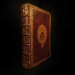 1727 French ROYAL Holy Week Catholic Breviary Missal Louis XV Armorial Binding