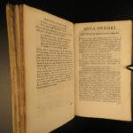 1718 AESOP Greek Literature Fables of Phaedrus Mythology HAGUE Dutch Burman