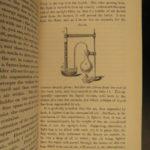 1863 1st ed John Tyndall on Heat Science Darwin Locomotive Thermodynamics RARE