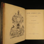 1840 1ed Charles Dickens Master Humphrey's Clock All 20 Periodical Parts in 3v