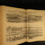 1886 1ed Soldier in Our Civil War Illustrated Military Battles Lincoln HUGE SET
