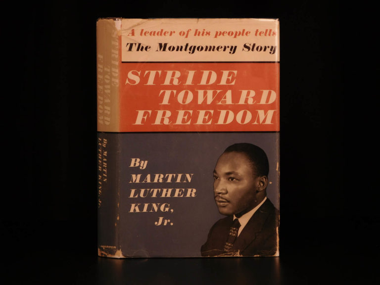 Image of 1958 1st ed Martin Luther King Stride Toward Freedom MLK Negro RACISM Rosa Parks