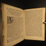 1553 Crescenzi Agriculture HERBAL Botany Hunting Italian Wine Ruralia Commoda