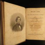 1866 1ed The Lost Cause Pollard Confederate Civil War White Supremacy SLAVERY