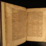 1597 Cooking & Cuisine FEASTS Stucki Antiquitatum Convivialium Greek Ceremonies