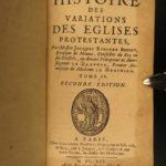 1691 Bossuet Variations Protestant vs Catholic Propaganda Huguenot Reformation