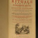 1763 EXORCISM Demons Roman Ritual Catholic Church Liturgy Occult Baruffaldi