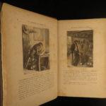 1881 1ed Jules Verne Captain at Fifteen Dick Sand SLAVERY Africa Voyages Hetzel