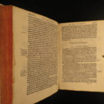 1580 Martin Luther ENGLISH Black Letter Bible on Galatians Protestant Reform