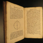 1728 Whiston Lectures on Isaac NEWTON Astronomy Cosmology Science Illustrated