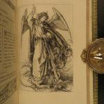 1883 EXQUISITE Fine Binding Parishioners of Renaissance Illustrated Durer RARE