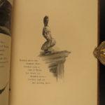 1885 The Raven Edgar Allan Poe Occult Horror Poetry Illustrated Taylor Binding
