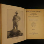 1925 Works of Theodore Roosevelt Rough Riders Hunting African Game Trails 6v SET