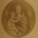 1860 Madonnas of Raphael Virgin Mary Edgar Allen Poe Chaucer Dante Goethe ART