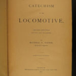 1879 Catechism of the Locomotive Steam Engine TRAINS Railroad Matthias Forney