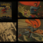 1942 1st/1st Superman Superhero Graphic Novel DC Comic Lowther Color Illustrated