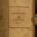 1813 1st ed Daniel BOONE The Mountain Muse Pioneer Americana Western Adventures
