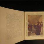 1929 Joan of Arc Brentano France Hundred Years War Color Illustrated French