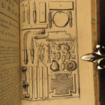 1777 SURGERY & Medicine Illustrated Operations French Illustrated Chirurgie Tools