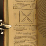 1573 LOGIC & Philosophy of Aristotle by Italian Monk Javellus Metaphysics Math