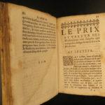 1645 Guybert Health SECRETS Medicine for Poor WINE Cures Plague Homeopathy