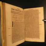 1672 Prohibited Book Index & Catholic Council Trent Index Librorum Prohibitorum