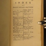 1729 1ed DUNCIAD Alexander Pope Epic Poetry Mythology Britain English Gilliver